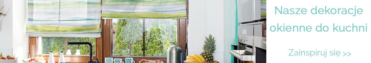 Dekoracja okna  Dekoria p -> Kuchnia Retro Kluczbork Menu
