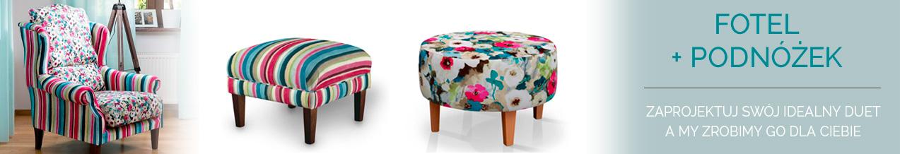 fotele i podnóżki