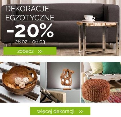 Dekoracje egzotyczne -20%