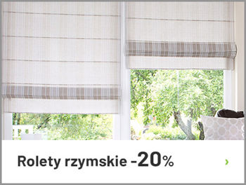 Rolety rzymskie -20%