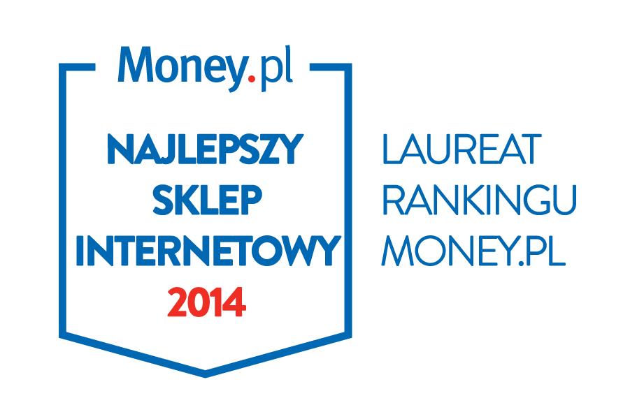 Money 2014 2. miejsce w kategorii Sklepy wielobranżowe oraz 3. miejsce w kategorii Najbardziej przyjazny sklep internetowy