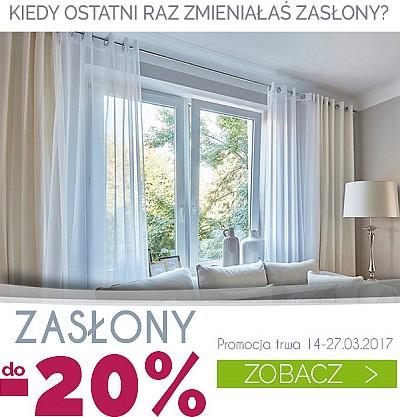 Zasłony do -20%
