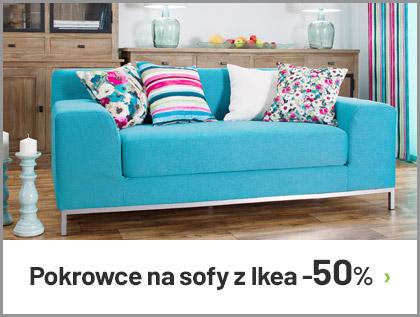 Pokrowce na sofy i fotele z IKEA -50%