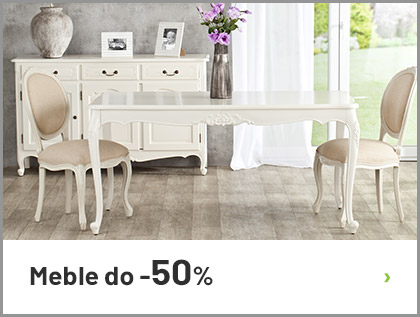 Meble do -50%