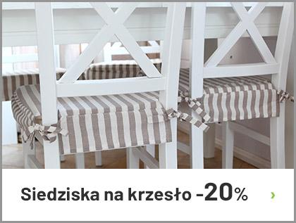Siedziska na krzesła -20%