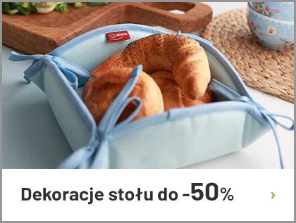 Dekoracje stołu do -50%