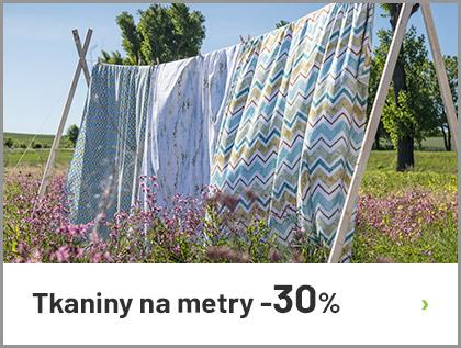 Tkaniny na metry -30%