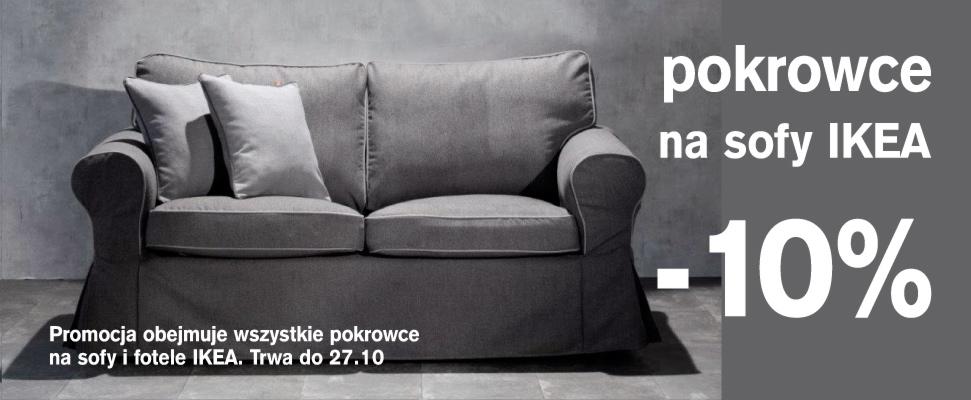 Pokrowce na sofy i fotele z IKEA -10%