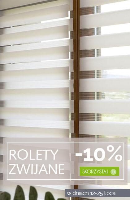 Rolety zwijane -10%