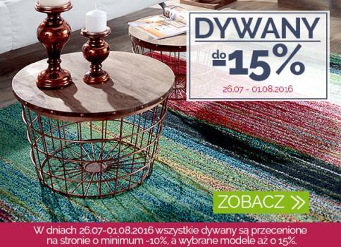 Dywany do -15%