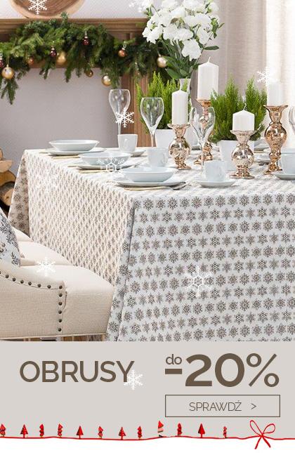 Obrusy do -20%