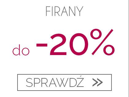 Firany do -20%