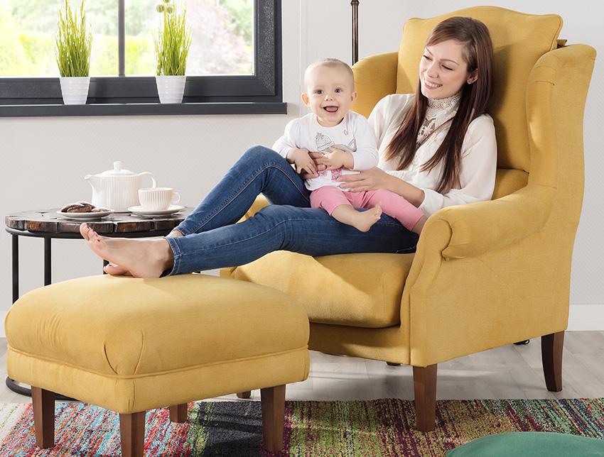 Fotele, pufy, skrzynie tapicerowane