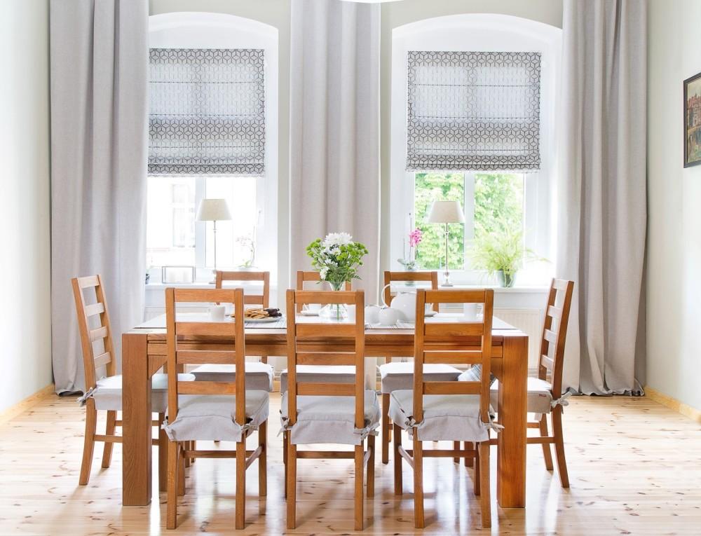 zasłony rolety rzymskie dekoracja okna dekoria