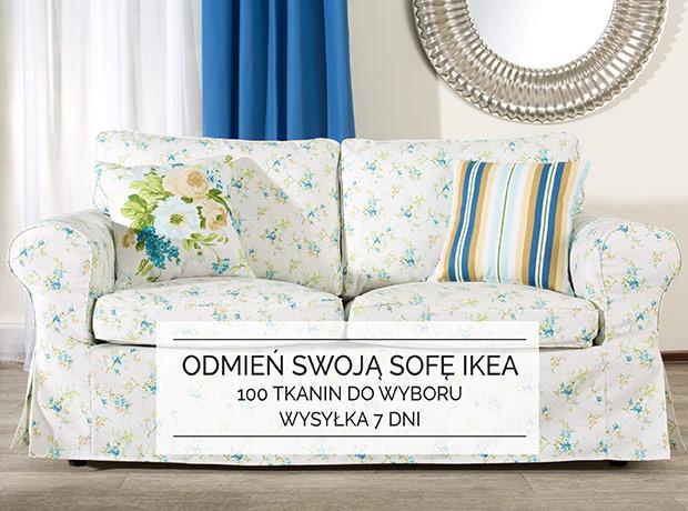 Odmień swoją sofę IKEA