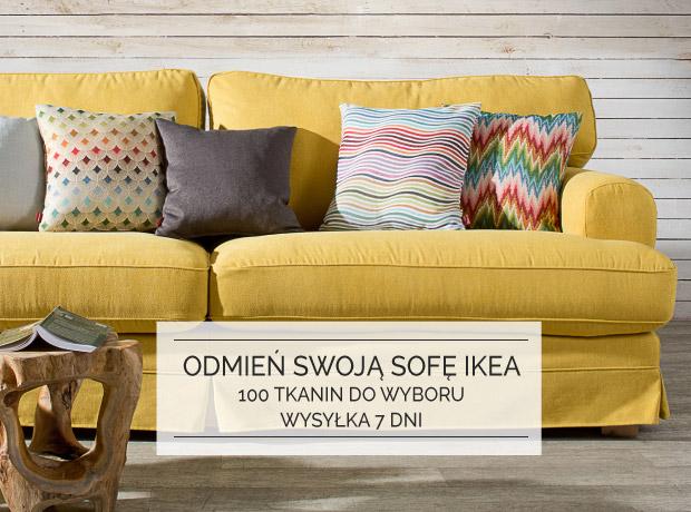Odmień swoją sofę IKEA pokrowce na sofy IKEA