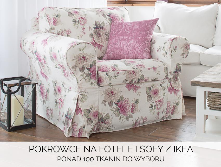 Pokrowce na fotel i sofy IKEA