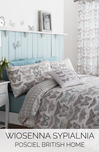 Wiosenna sypialnia pościel british home