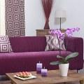 Pokrowiec na sofę Klippan z  IKEA, kolekcja Pia, szenil