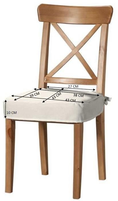 Siedzisko na krzesło Ingolf rozmiary